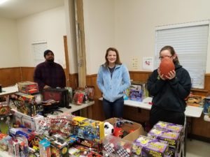 Santa's Helpers Toy Drive